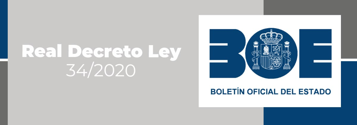 Real Decreto-ley 34:2020